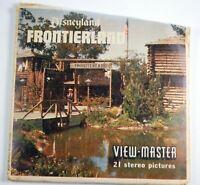 View-Master 3 reel set Disneyland Frontierland California A176 - DT