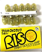 RISO PRINT GOCCO Kit Flash Light Lamp 10Piece 1BOX Japan FS