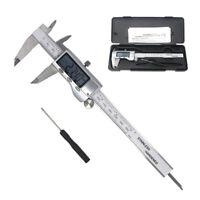 Electroni Digitale Acciaio Inox Calibro a Corsoio Micrometro 0 100/150/200/300mm