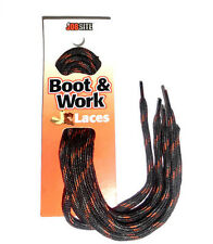 "JobSite Boot Round Shoelace 54013 Hiking Lace BLACK BROWN COPPER 45"" Athletic 45"