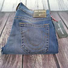 Men's True Religion Jeans 32 x 32 Geno Relaxed Slim leg in Blue RRP £139 BNWT