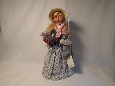 Byers Choice 2002 Cries of London Lavender Lady with Original Tag