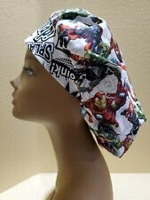 Texas Tech Women/'s Bouffant Surgical Scrub Hat//Cap Handmade
