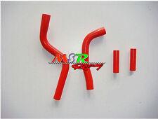 for YAMAHA YZ125 2003 2004 2005 2006 2007 2008 silicone radiator hose red