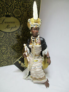 """NEW Duncan Royale History Of Africa's Kings & Queens Figurine """"Nandi"""" Limited"""