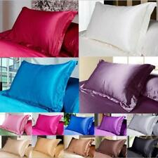 Satin Silk Pillowcase Anti-Ageing UK - 7 colours New UK