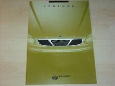 45360) Daewoo Leganza Prospekt 02/1998