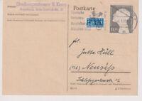 BUND, Mi. 165, EF, Augsburg 6.6.53, MWS Verkehrs-Ausst.