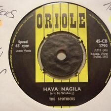 "The Spotnicks(7"" Vinyl 1st Issue)Hava Naglia-UK-Ex/Ex"