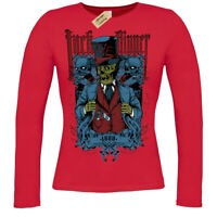 Jack the Ripper T-Shirt 1888 zombie ladies long sleeve
