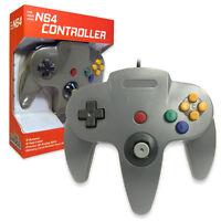 Nintendo 64 CONTROLLER GREY  N64 *OLD SKOOL* New In Box!!