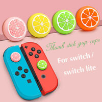 Analog Joystick Cap Cover Thumb Grip Silicone For Nintendo Switch NS Lite