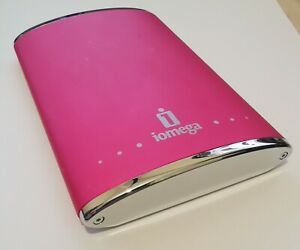 "Iomega eGo RPHD-U 250GB USB 2.0 2.5"" External Hard Drive (Red)"