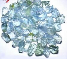 Beautiful, Neat Medium Blue Aquamarine Facet Rough!
