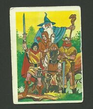 Lord of the Rings J.R.R. Tolkien Scarce 1981 Cartoon Card from Spain B