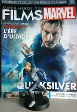 MARVEL MOVIE COLLECTION #35 Quicksilver Figurine (Avengers Age of Ultron) French