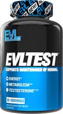 Evlution Nutrition EVL Test Testosterone Booster, Strength Stamina 30 Servings