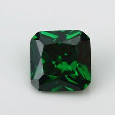 7.23ct AAAAA Natural Mined 10x10mm Sri-Lanka Emerald Square Cut VVS Gemstone