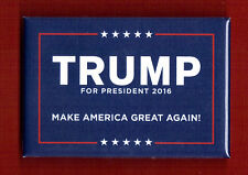 "2016 Donald Trump (2"" x 3"" - Rectangular) Presidential Campaign Button (Pin 03R)"