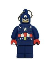 8GB Captain America Lego Edition Flash Drive, Memory Storage Device, Thumb Dr...