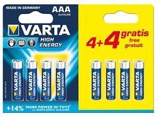 "PILES ALCALINE AAA / LR03 ""HIGH ENERGY"", 1.5V PACK PROMO"