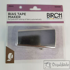BIRCH - Bias Tape Maker - 25mm Width - Make Your Own Tape