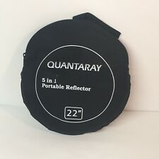 Quantaray Photography Reflectors 5 in 1 Light Portable Collapsible Multi-Disc