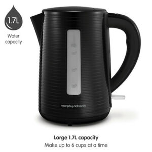 Morphy Richards Arc Black Jug Kettle 108398