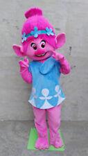 Trolls Princess Poppy Mascot Costume Birthday party game Parade dress adults