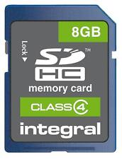 SDHC CARD 8GB CLASS 4 INTEGRAL Blank Media and Memory Flash Memory