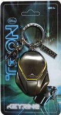 Tron Legacy Pewter Keyring - Clu's Helmet / Disney 2010 Key fob chain clu