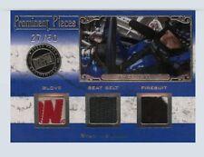 Ryan Newman 2008 Press Pass Legends Prominent Pieces 27/50 Firesuit Glove Belt