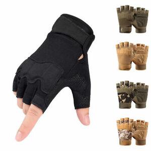 Unisex Half Finger Shooting Fingerless Gloves Men Tactical Gloves Sports Gloves