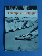 TRIUMPH  EN  BELGIQUE - CATALOGUE - Français
