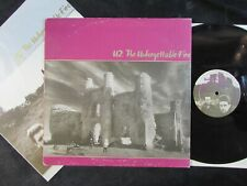 U2 The Unforgettable Fire CANADA LP/INNER pride/in the name of love EX