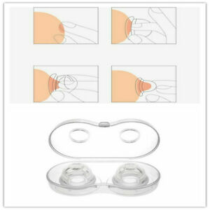2pcs Nipple Corrector Device Correction For Inverted Nipples Treatment Enlarger