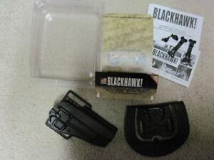 BLACKHAWK SERPA CONCEALMENT HOLSTER MODEL#: 410503BK-R BLACK RIGHT HAND