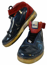 NIKE Air force 25 AF25 us 12 eur 46 patent shiny leather red blue