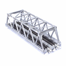 "NEW Kato Silver 248mm (9 3/4"") Double Track Truss Bridge N Scale 20-437"