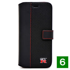 Nissan NISMO GR-R Leather book case para iPhone 6/6s Black