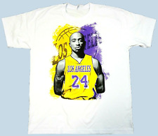 Rare 2Pac Los Angeles Lakers Basketbal Men White T-shirt Size S-234XL KL1392