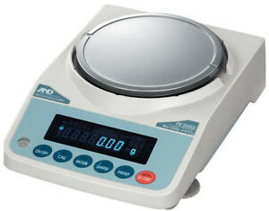A&D FX-2000i Precision Lab Balance, Compact Scale 2200gX0.01g,New