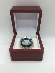 1973 Miami Dolphins Larry Csonka Super Bowl Championship Ring Set with Box
