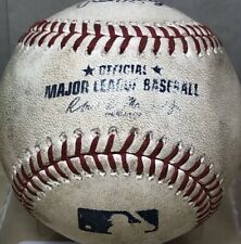 Cody Bellinger MLB Debut First Hit Game Used Baseball Rookie - 2020 World Series
