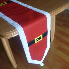 Christmas Cloth Dinner Table Runner Cover Tablecloth Festival Xmas Party Decor