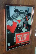 New Kids on the block NKOTB boyband boy band mirror vintage pop PRINTED rare