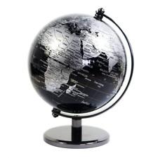 KiaoTime 5 inch Diameter BLACK SEA Vintage World Globe Antique Decoration