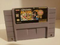 Super Mario All-Stars (Super Nintendo Entertainment System, 1993) Authentic