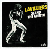 """Bernard LAVILLIERS Vinyle 45T SP 7"""" STAND THE GHETTO - BARCLAY 62 696 F Reduit"""
