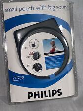 Philips Portable Cd Player Music Pouch Ay3279